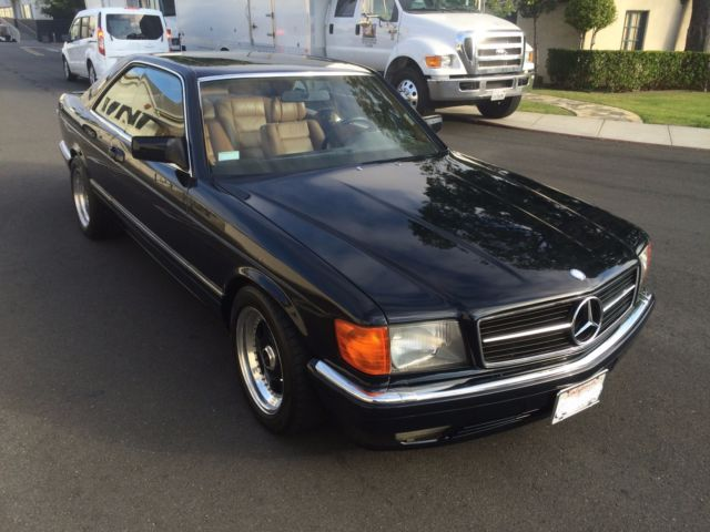 1988 Mercedes 560 SEC -- Show-Winner with Euro and Lorinser