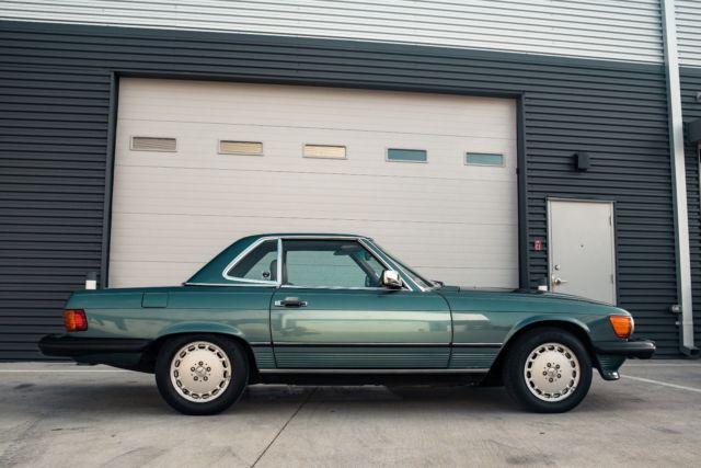1988 Mercedes 560sl Rare Blue Green Low Miles Classic