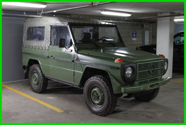 1988 mercedes benz 240gd 4x4 g wagon diesel military for Mercedes benz 4x4 g class