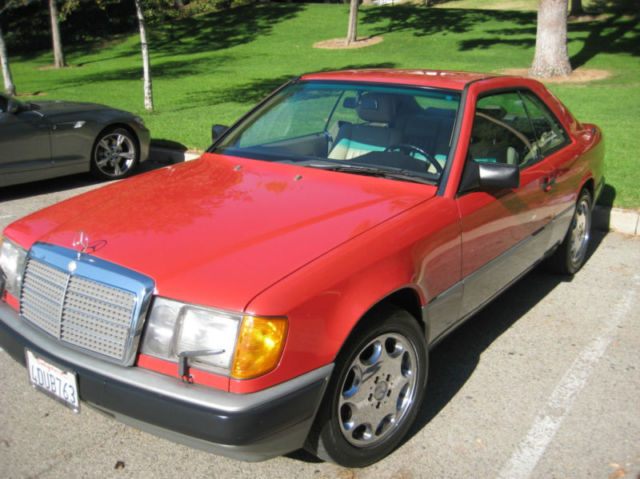 1988 mercedes benz 300ce coupe 2 door 3 0l mint no reserve for 1988 mercedes benz 300ce