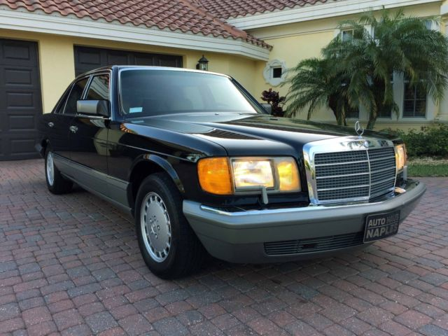 Mercedes Benz Of Bonita Springs >> 1988 Mercedes-Benz 300SE Sedan 1-Owner 85K Miles No ...