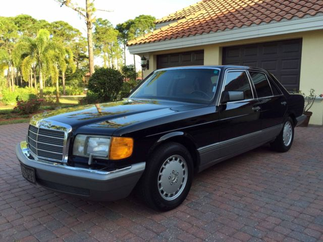 1988 mercedes benz 300se sedan 1 owner 85k miles no for 1988 mercedes benz 300se