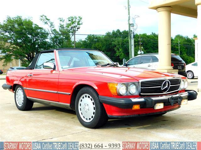 1988 mercedes benz 560 sl original 67k miles carfax for Mercedes benz for sale in texas
