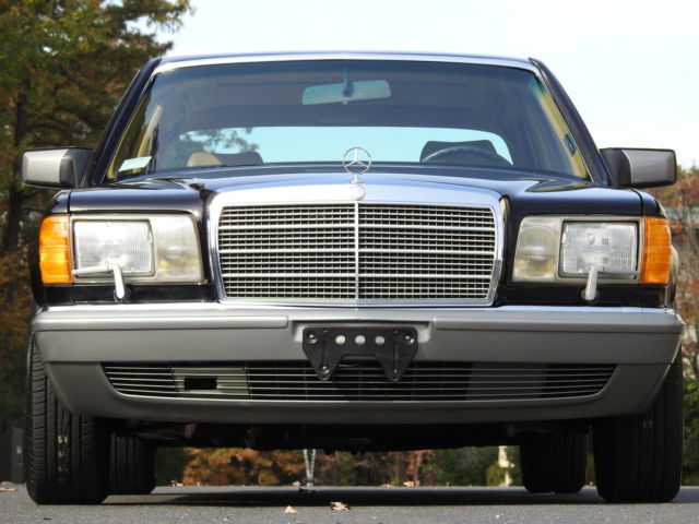1988 mercedes benz 560sel black with palomino leather 2 for 1988 mercedes benz 560sel