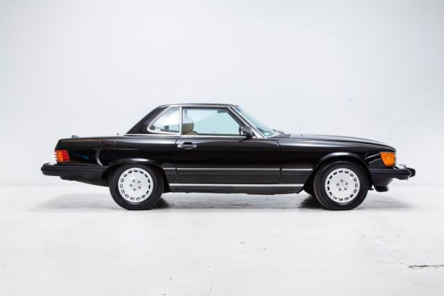 1988 mercedes benz 560sl black hardtop convertible for 1988 mercedes benz