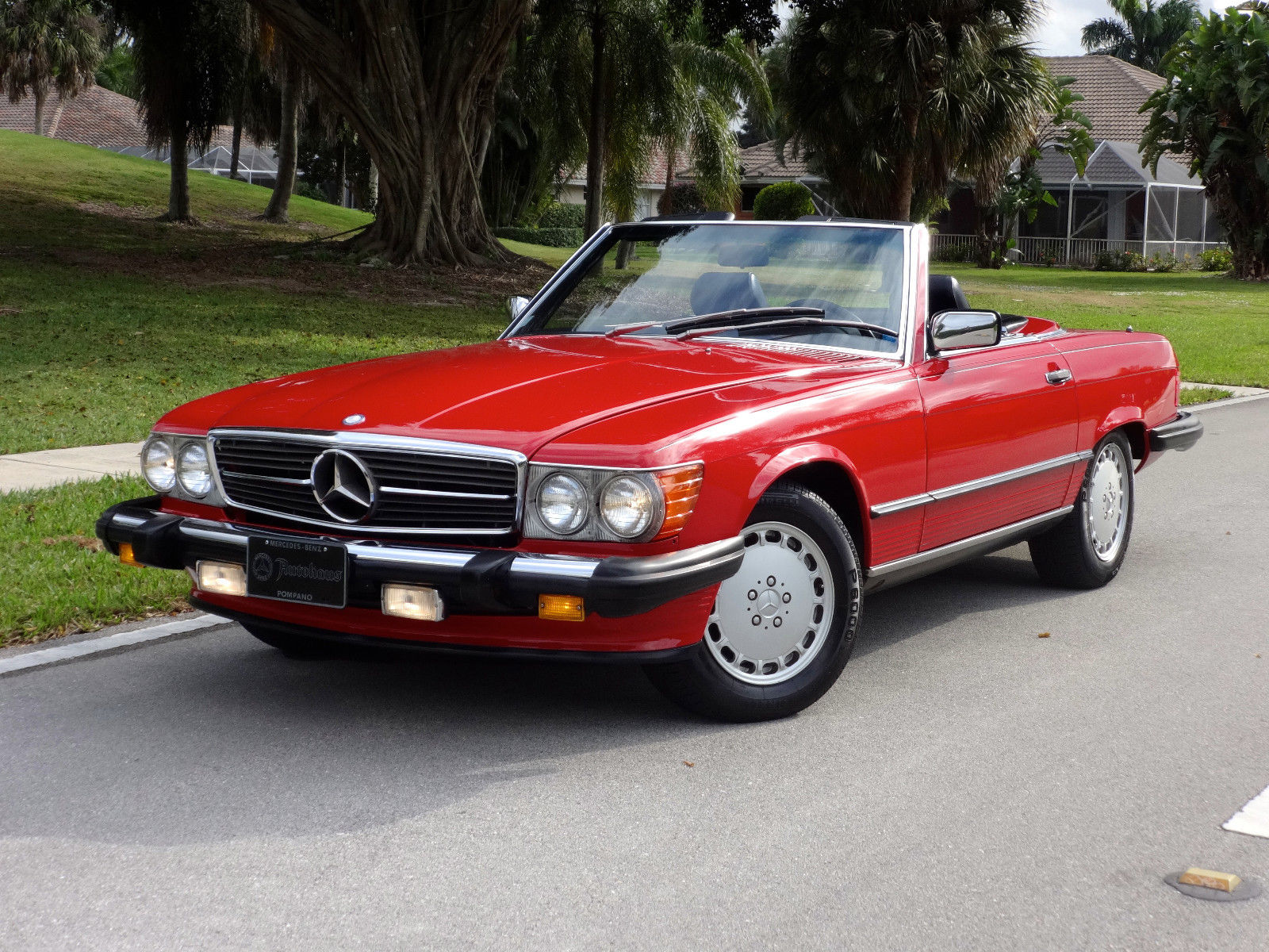 1988 mercedes benz 560sl convertible one owner florida for Mercedes benz sl convertible for sale