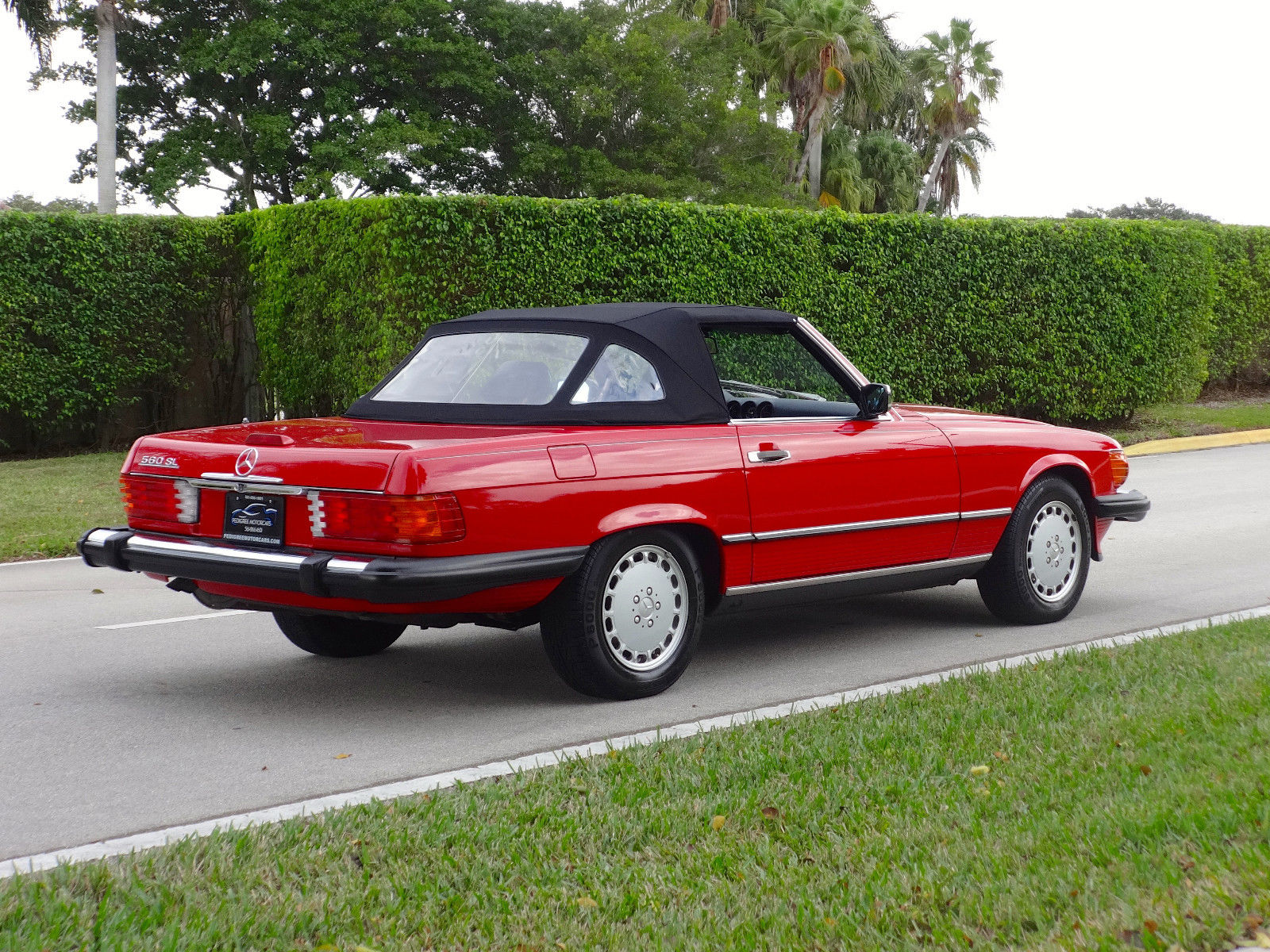 1988 mercedes benz 560sl convertible one owner florida for Florida mercedes benz