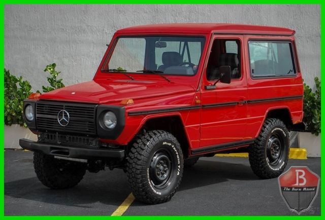 1988 Mercedes Benz Euro G Wagon 240gd Turbo Diesel Coupe 4x4 Suv