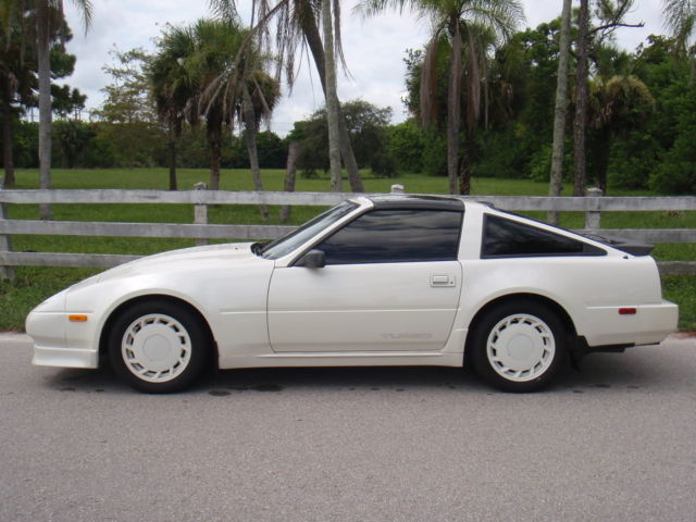 1988 Nissan 300zx Turbo Coupe 2 Door 3 0l Shiro Edition