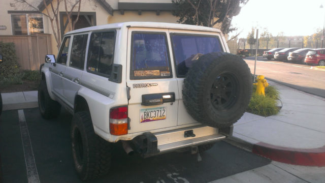 Nissan Chula Vista >> 1988 Nissan Patrol 4x4 Offroad SUV - Classic Nissan Other 1980 for sale