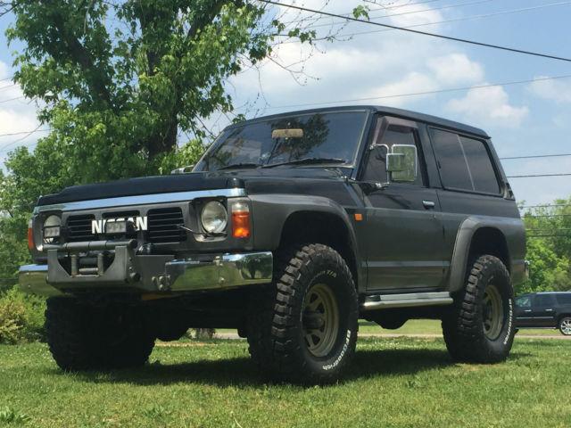 1988 Nissan Patrol Safari Swb Diesel Twin Diff Lock