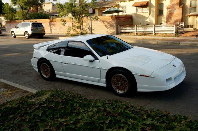 1988 Pontiac Fiero Gt Automatic Show Car Fully Restored