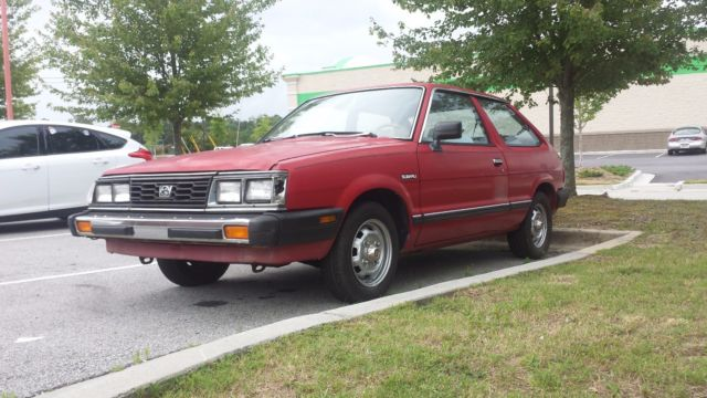 1988 Subaru Gl Hatch 2wd Carb Georgia 10 Donation To