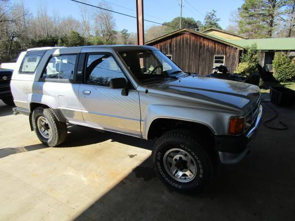 1988 toyota 4 runner 2 door 4x4 truck new engine tires v 6. Black Bedroom Furniture Sets. Home Design Ideas