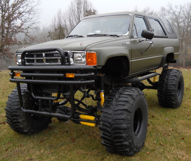 Chevy 350 Engine With Transmission For Sale: 1988 Toyota 4Runner 4x4 Chevy 350 Motor /350 Auto