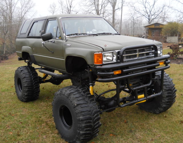 1988 toyota 4runner 4x4 chevy 350 motor 350 auto transmission 3 4 ton axles classic toyota. Black Bedroom Furniture Sets. Home Design Ideas