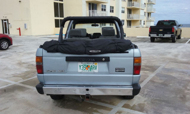 1988 toyota 4runner dlx sr5 4x4 22re turbo auto soft top ac power