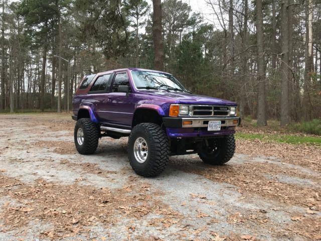 Used 4runner For Sale >> 1988 Toyota 4Runner SR5 3.0 V6 4x4 lifted, custom paint ...