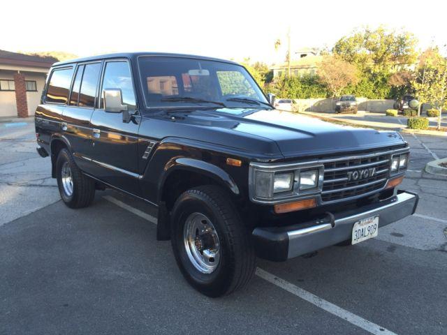 1988 Toyota Land Cruiser Fj62 Fj60 Fj40 Tlc Automatic 4x4