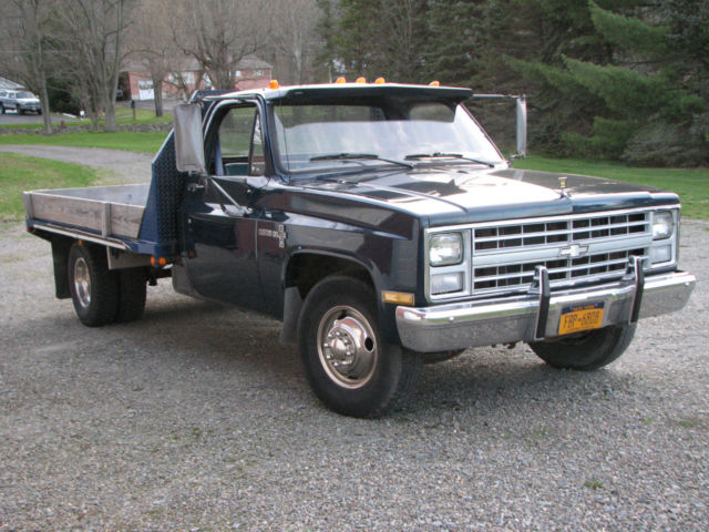 1988 Vintage Chevrolet Chevy R30 C30 1 Ton Flatbed Dually ...