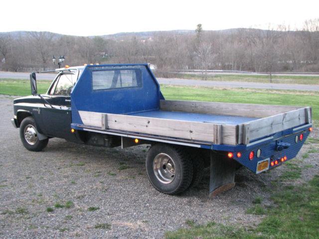1988 Vintage Chevrolet Chevy R30 C30 1 Ton Flatbed Dually ...