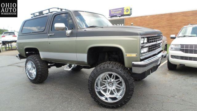 Lifted Suburban For Sale >> 1989 4x4 Lifted K5 Blazer Like Jimmy Bronco suburban tahoe ...