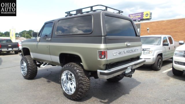 1989 4x4 Lifted K5 Blazer Like Jimmy Bronco Suburban Tahoe