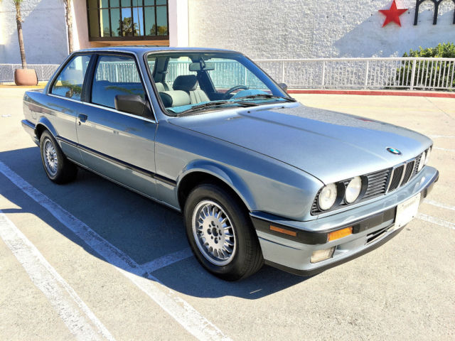 1989 bmw 325i base coupe 2 door 2 5l e30 very clean all original virgin car classic bmw 3. Black Bedroom Furniture Sets. Home Design Ideas