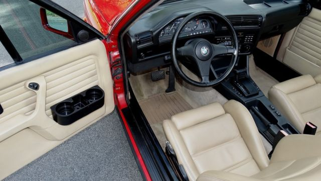 Bmw I Convertible Redtan Interior Black Top Super Nice Inside An Out