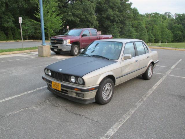 1989 BMW 325i E30 Manual Bronzit Beige Sedan 182k Miles