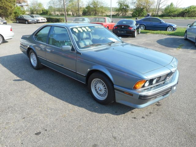 1989 bmw 635csi 51k miles original paint last year of the. Black Bedroom Furniture Sets. Home Design Ideas