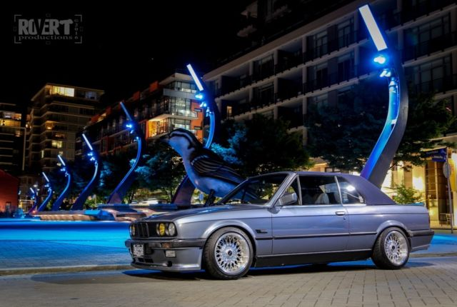 1989 BMW E30 325i Convertible With Hardtop Amp Mtech 1 Kit
