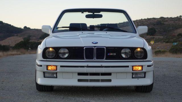 1989 Bmw E30 M3 Convertible Cabriolet Conversion Replica Classic