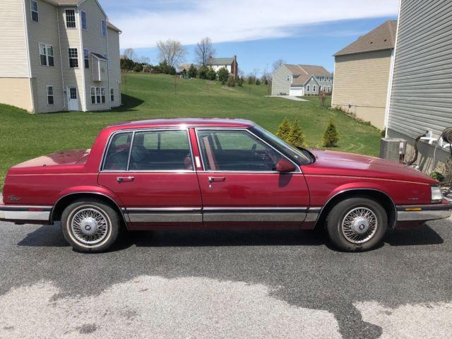1989 buick park avenue car used title a original owner estate car