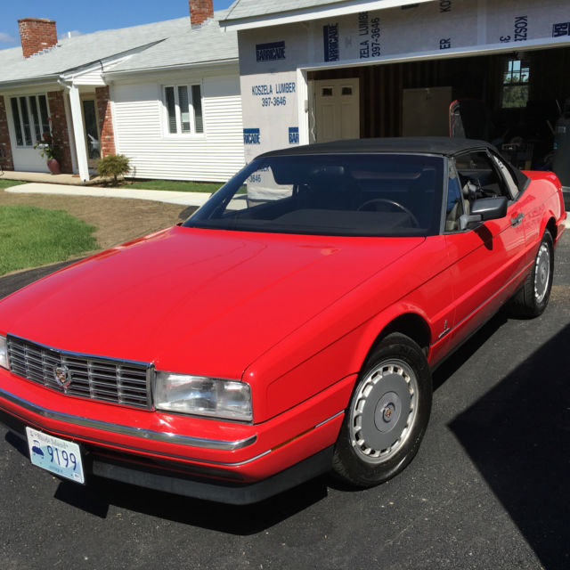 1989 CADILLAC ALLANTE HARDTOP/CONVERTIBLE FEMALE OWNED