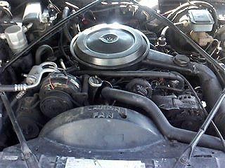 1989 Cadillac Brougham 4 Door Sedan W 307 50 Liter Olds V8 All