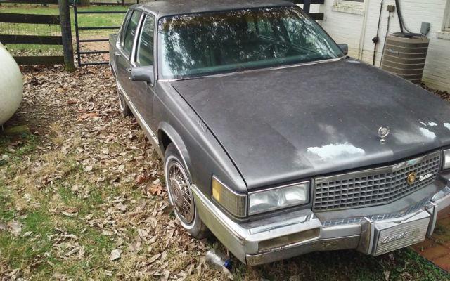 Cadillac Deville Door Sedan No Reserve Low Miles Long Term Ownership