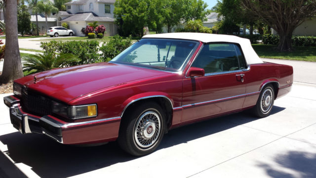 Cadillac Deville Custom Convertible