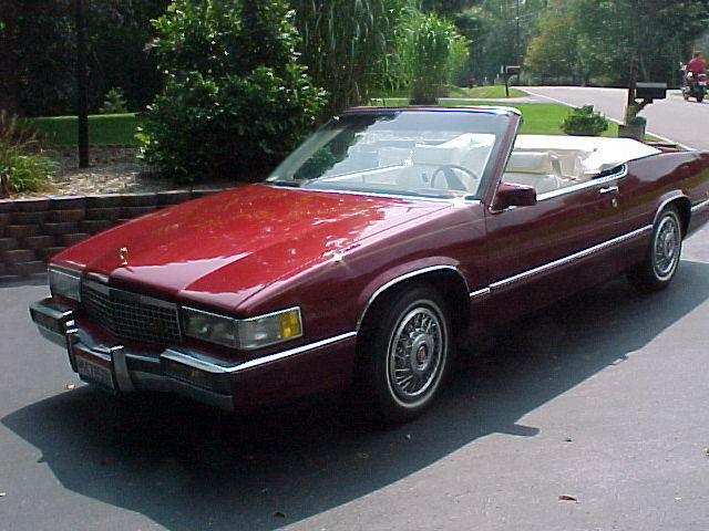 Cadillac Deville Custom Convertible on 1993 Cadillac Allante