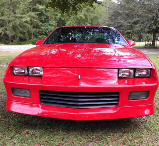 1989 Chevrolet Camaro RS V8 Factory 5 Speed T-Tops $ NO