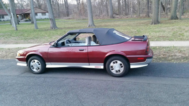 Chevrolet Cavalier Z Convertible Refurbished Muscle Chevy Collectible Car on Affordable Muscle Cars