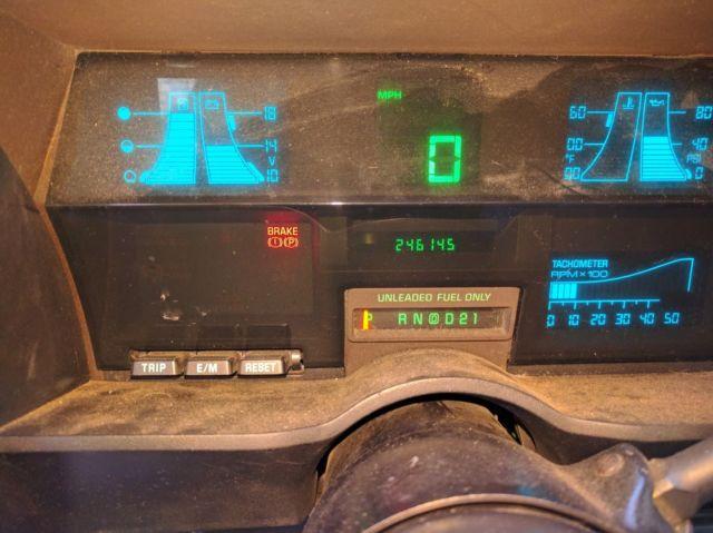 1989 Chevrolet S10 Blazer 4x4 2 Door 4 3l V6 Classic