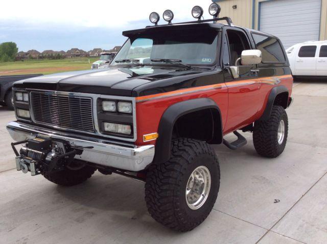 1989 Chevy Blazer Custom Paint 6 Quot Lift Kit Runs And Drives