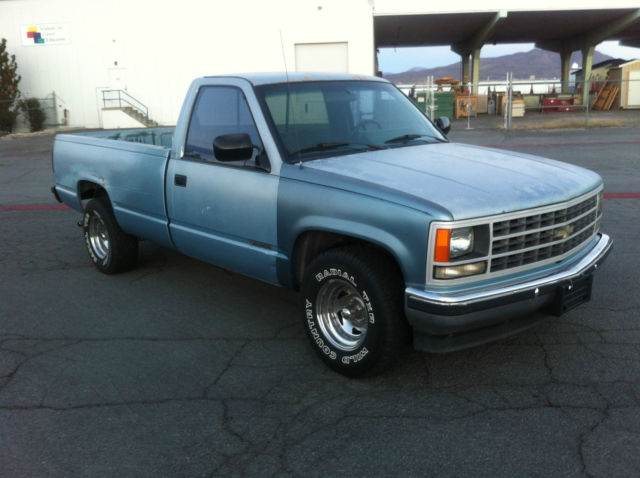 1989 chevy c1500 2wd 4 3 liter v6 eng auto trans long bed world shipping classic chevrolet. Black Bedroom Furniture Sets. Home Design Ideas