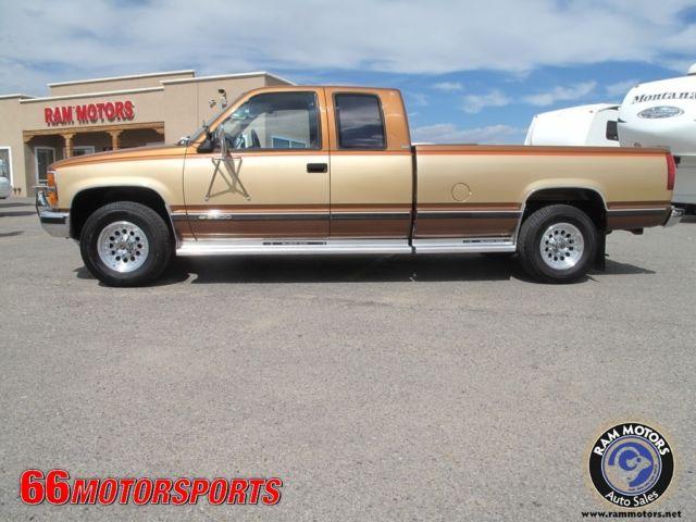1989 chevy c3500 7 4l v8 72k original miles 5th wheel for Ram motors rio rancho