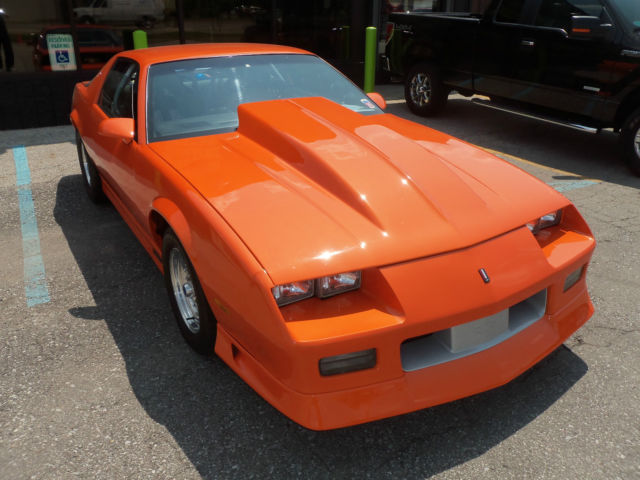 1989 Chevy Camaro Iroc Z28 568 C I 800 Hp Street Strip