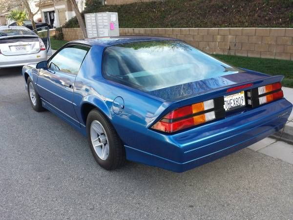 1989 Chevy Camaro RS V6, only 4,972 original miles, GM