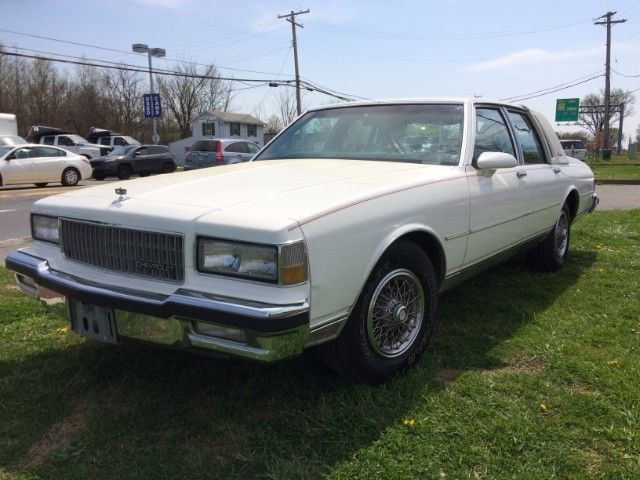1989 chevy caprice classic brougham ls classic chevrolet caprice 1989 for sale. Black Bedroom Furniture Sets. Home Design Ideas