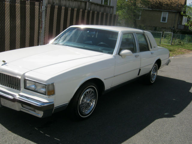 1989 chevy caprice ls brougham 50 000 miles garage car. Black Bedroom Furniture Sets. Home Design Ideas