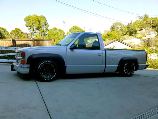 1989 CHEVY CK1500 CUSTOM NASCAR TRIBUTE LOWERED SLAMMED ...